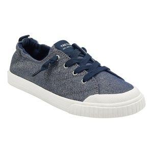 Tretorn Meg 4 Marino Navy Blue Glitter Sneaker New